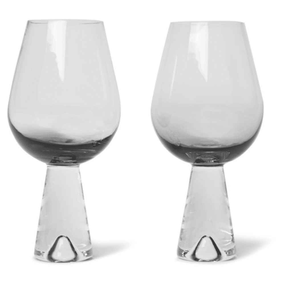 TOM DIXON TANK WINE GLASSES - Simply the nicest wine glasses I've seen so far. Who wouldn't want them!?SELLOUT RISK: LOW MED HIGHPurchase now at mrorter.com for $110.00