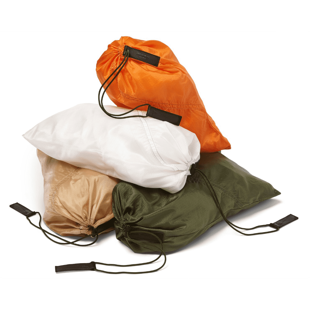 KILLSPENCER PARACHUTE BAG - This item can be extremely useful when you travel. Made from a repurposed US Air Force parachute (that's very cool) and from a quality company.SELLOUT RISK: LOW MED HIGHPurchase now at killspencer.com for $60.00