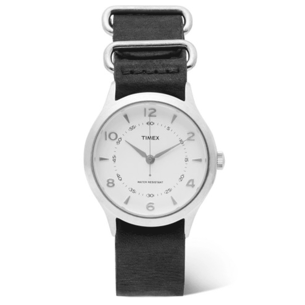 TIMEX WHITNEY WATCH - Another Timex watch. This one is more of a utilitarian version. I love the clean white face.SELLOUT RISK: LOW MED HIGHPurchase now at mrporter.com for $135.00