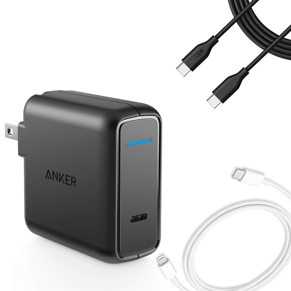 AN UPGRADED PHONE CHARGER - Upgrade to a USB-C cell phone charger and charge your phone from 0% to 100% in around 1-2 hours. Extremely useful.USB-C Wall Charger $25.99USB-C to Lightning Cable $19.00USB-C to USB-C Cable $9.99