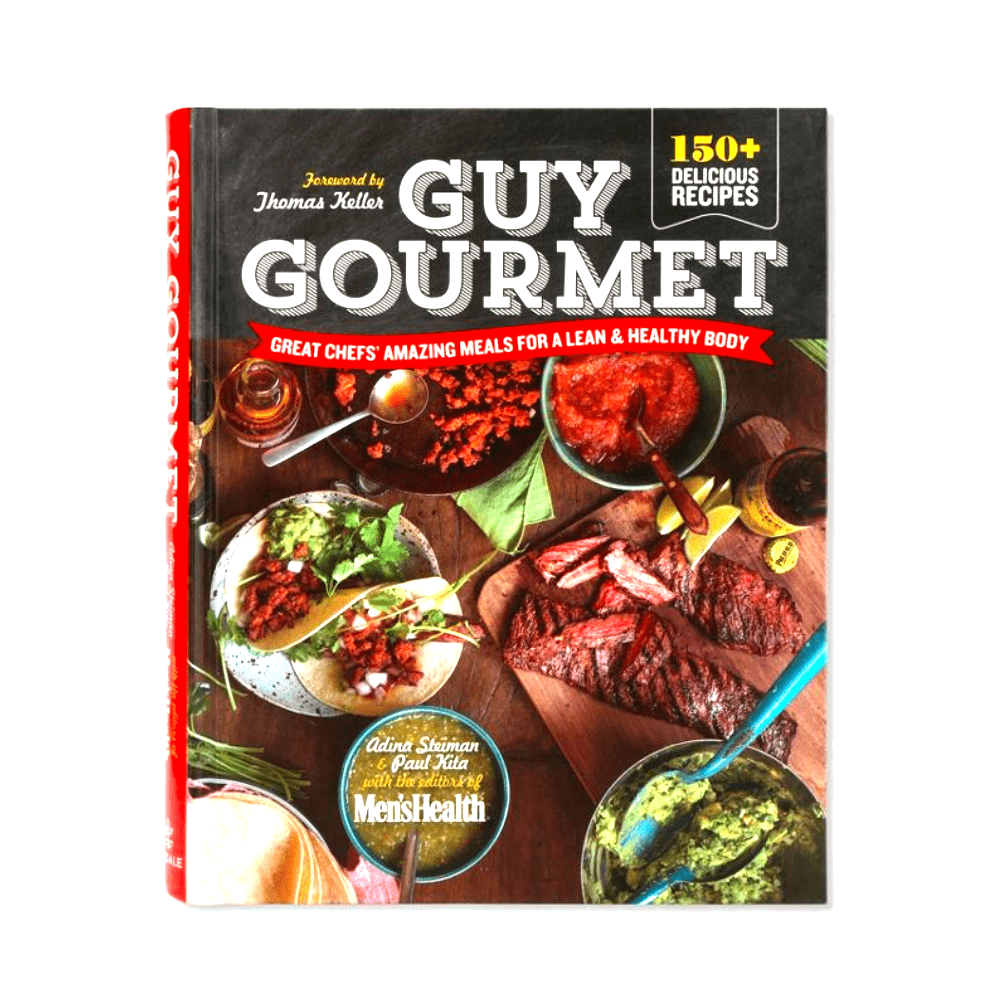MEN'S HEALTH GUY GOURMET - If the person you're gifting (or you) likes to cook, or likes to eat healthy. This book has some really great and simple recipes.Purchase now at amazon.com for $20.00