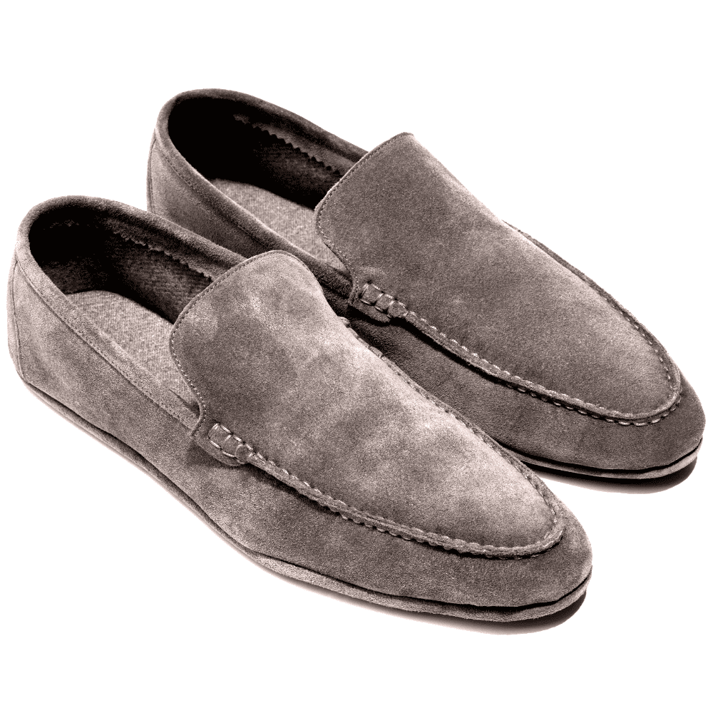 LORO PIANA WALK AT HOME SLIPPERS - Loro Piana, the king of cashmere makes this high quality house slipper with a suede outside and lined with baby cashmere. Can't imagine anything more comfortable wrapped around my feet.SELLOUT RISK: LOW MED HIGHPurchase now at loropiana.com for $690.00