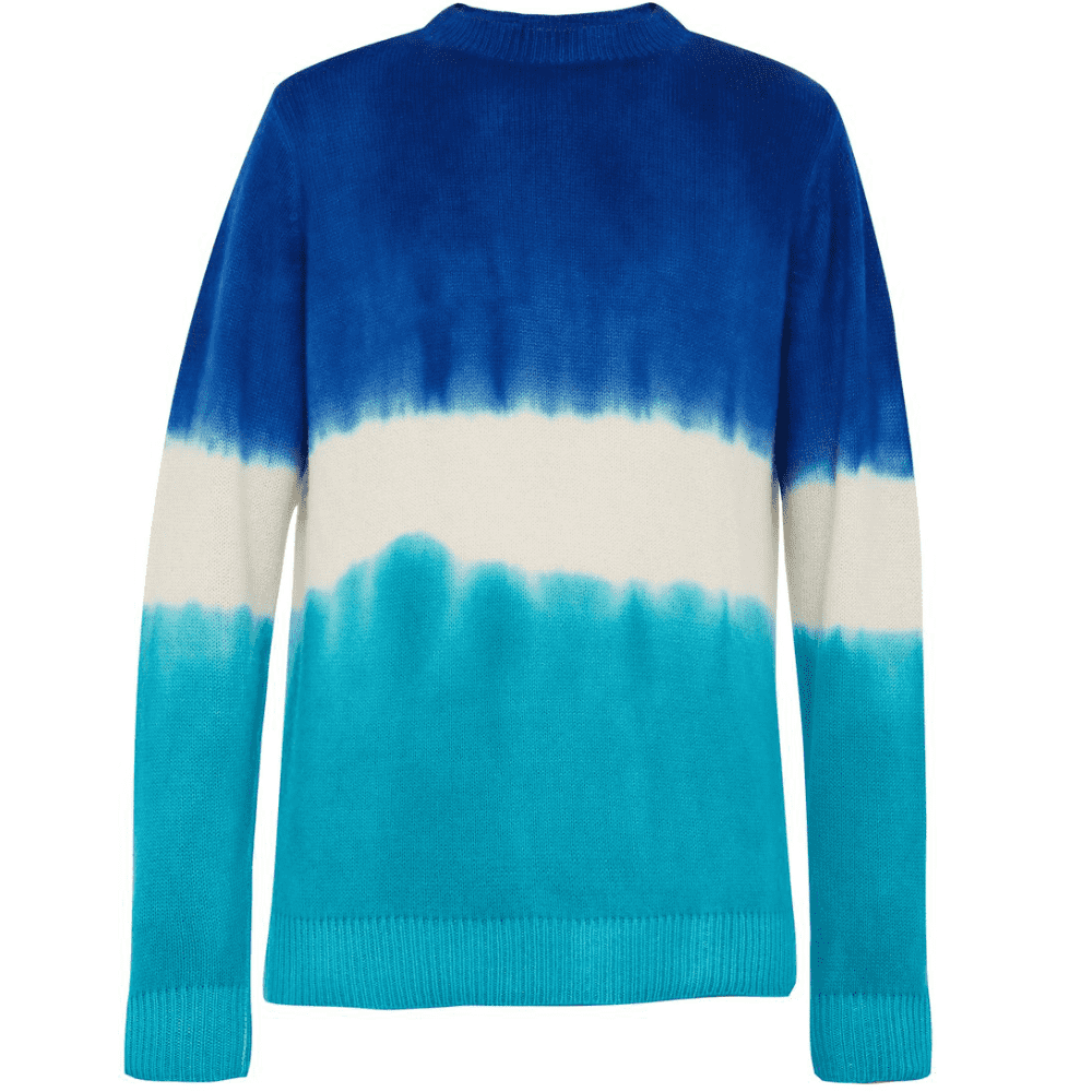THE ELDER STATESMAN TIE-DYED CASHMERE KNIT - The Elder Statesman's cashmere knits are simply amazing and definitely something different than anyone else's cashmere sweaters. (Very good price on this from Matches Fashion by the way).SELLOUT RISK: LOW MED HIGHPurchase now at matchesfashion.com for $950.00