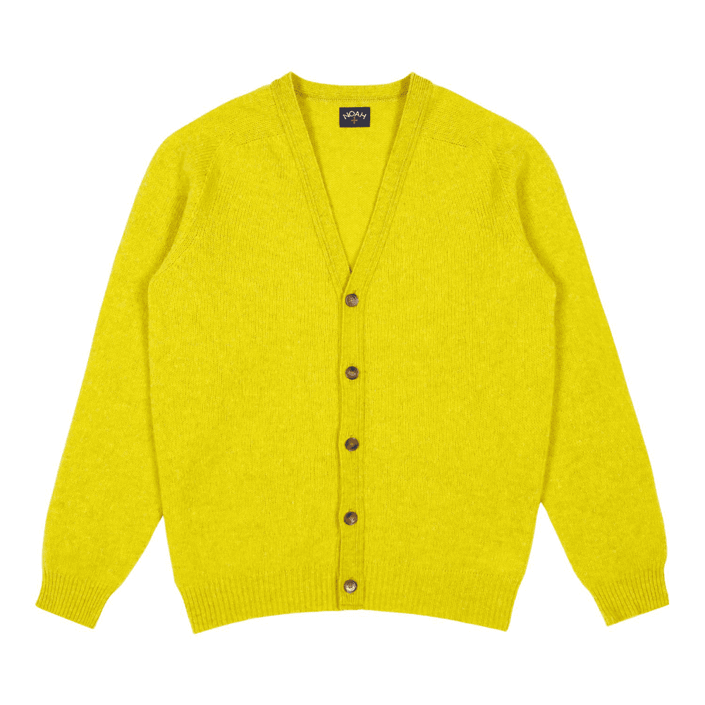 NOAH SHELTLAND CARDIGAN - No better piece to add to your wardrobe going into 2019 than a bright cardigan!SELLOUT RISK: LOW MED HIGHPurchase now at noahny.com for $298.00
