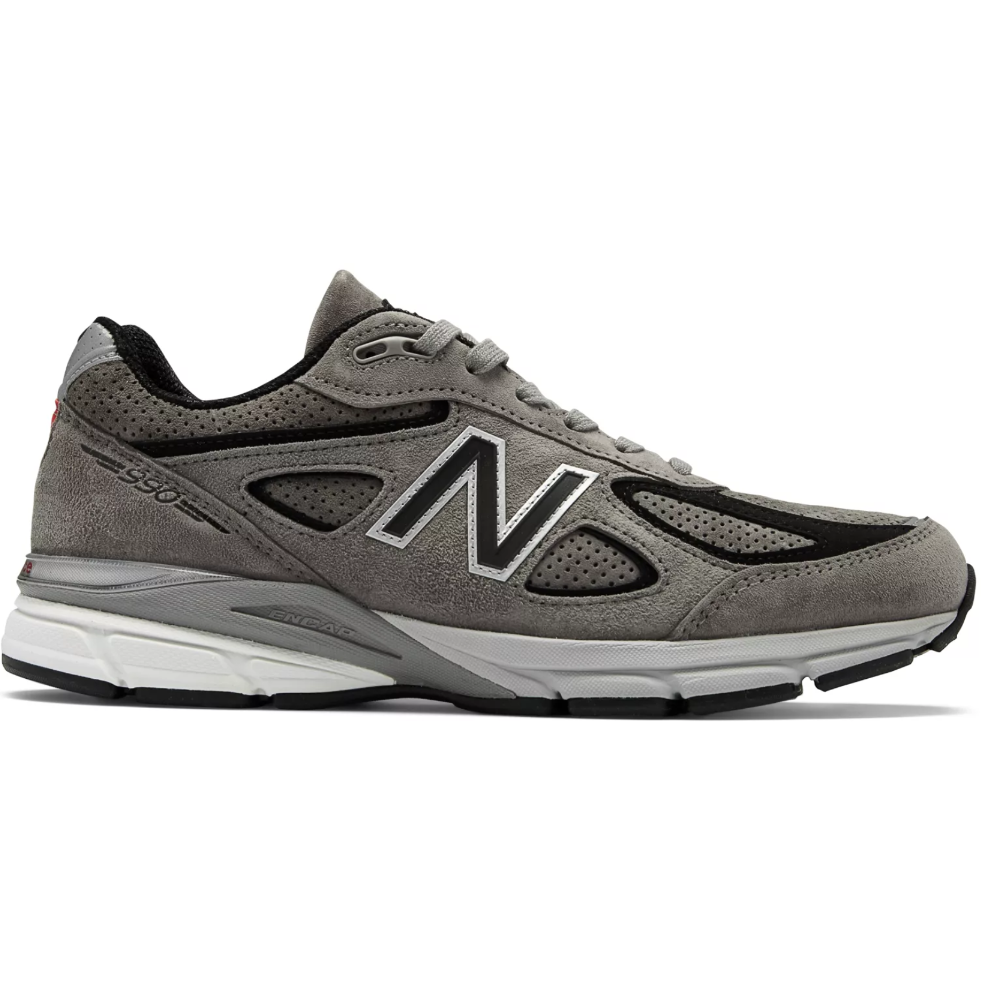 NEW BALANCE 990v4 - Original comfort and style.SELLOUT RISK: LOW MED HIGHPurchase now at newbalance.com for $184.99