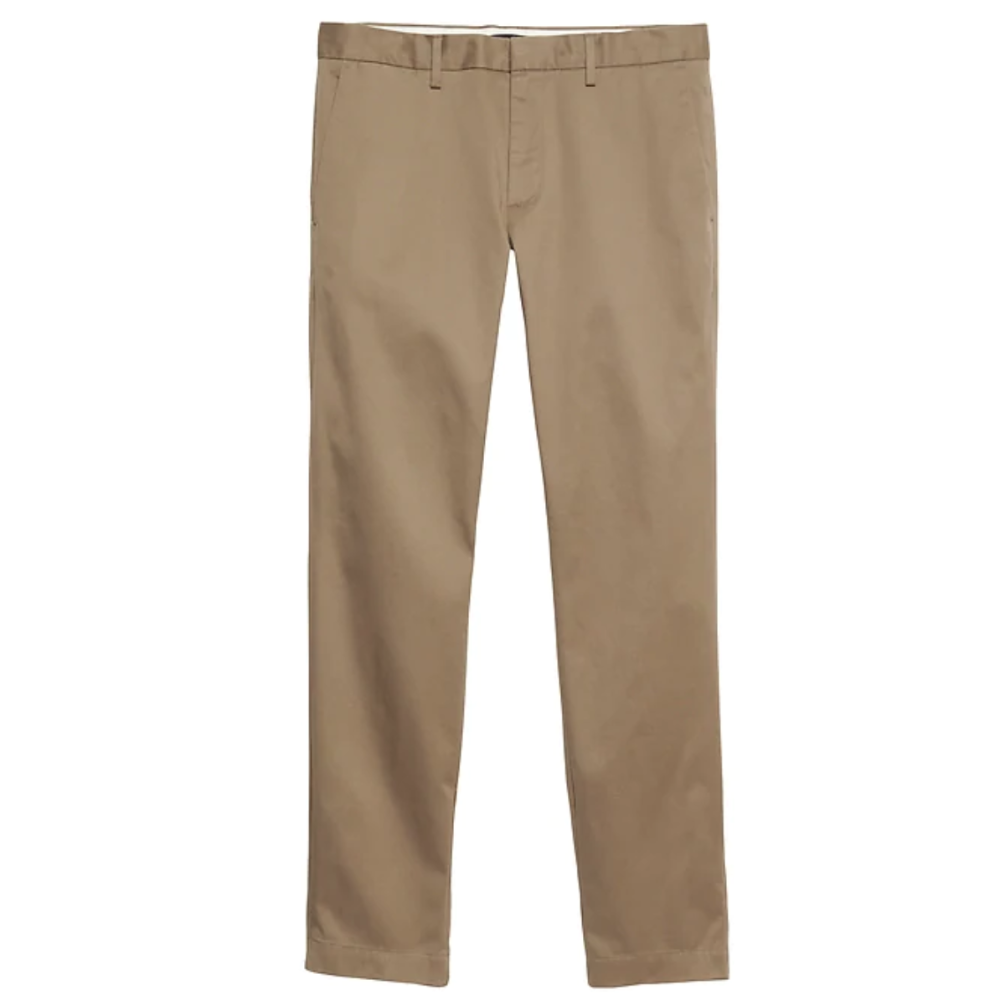 BANANA REPUBLIC STRAIGHT LEG CHINO - Hard to beat the price for quality on Banana Republics chinos. Straight leg is 2019's skinny!SELLOUT RISK: LOW MED HIGHPurchase now at bananarepublic.com for $98.00