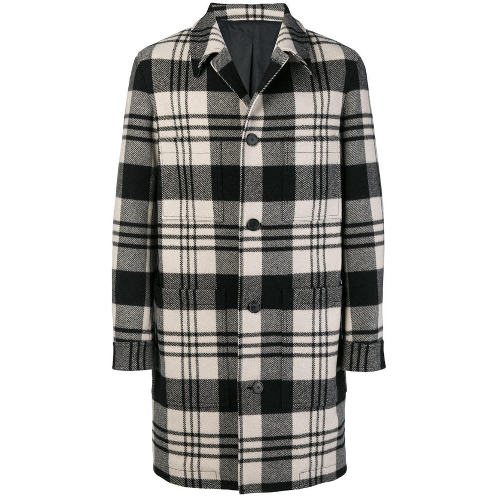 AMI PLAID CAR COAT - AMI Paris has got the outerwear game down to perfection the past few seasons. This coat proves the ladder.SELLOUT RISK: LOW MED HIGHPurchase now at farfetch.com for $1120.00