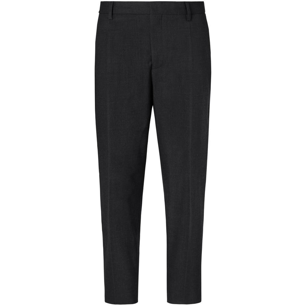 """MR. P CROPPED WOOL TROUSERS - """"Cropped Pleated Stretch Wool And Cotton-Blend Trousers"""" from Mr. P. That's a mouth full.SELLOUT RISK: LOW MED HIGHPurchase now at mrporter.com for $260.00"""