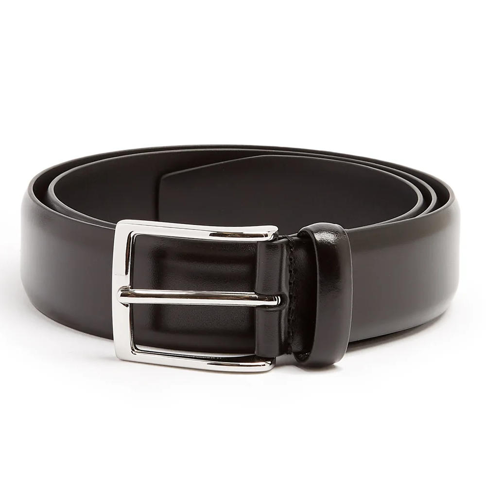 ANDERSON'S BLACK LEATHER BELT - If you don't already own a simple black leather belt (which would be surprising) or if you need a new one. You can't beat the price and reputability of Anderson belts.SELLOUT RISK: LOW MED HIGHPurchase now at matchesfashion.com for $90.00