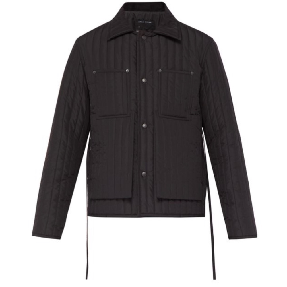 CRAIG GREEN WORKWEAR JACKET - Workwear style clothing is all over in 2019 from the runway to the streets. I can't recommend jumping in enough and this jacket is the perfect way to start (or add) to your wardrobe.SELLOUT RISK: LOW MED HIGHPurchase now at matchesfashion.com for $870.00
