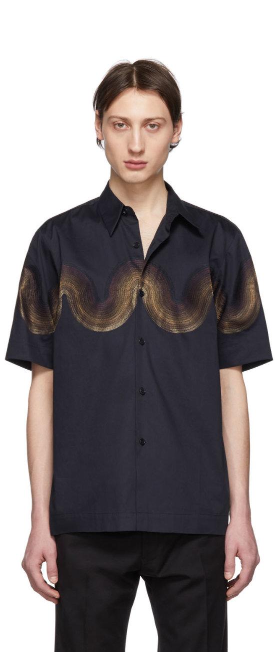 Dries_Van_Noten_Navy_Verner_Panton_Edition_Wave_Classen_Shirt.jpg