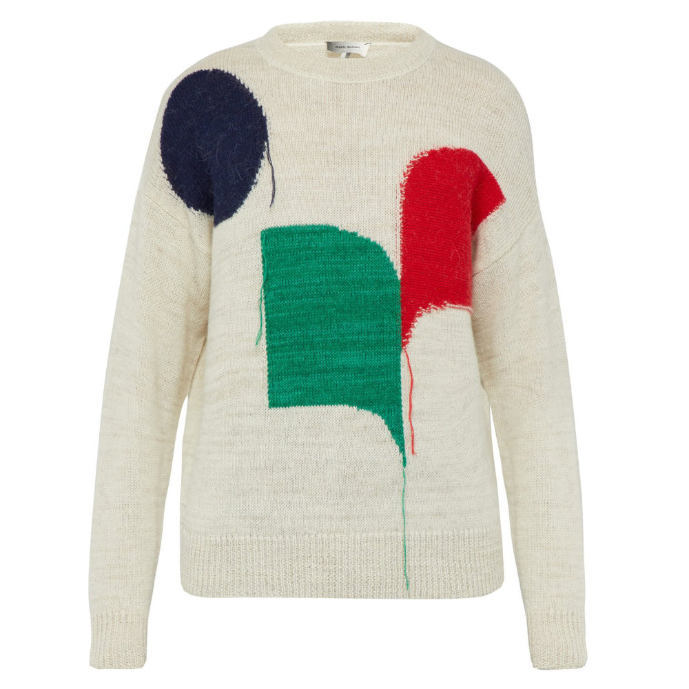 ISABEL MARANT STEENLEE KNIT - This knit from Isabel Marant has a beautiful patchwork pattern and a great blend of materials. An all around great knit that will last a lifetime and never go out of style.SELLOUT RISK: LOW MED HIGHPurchase now at matchesfashion.com for $460.00