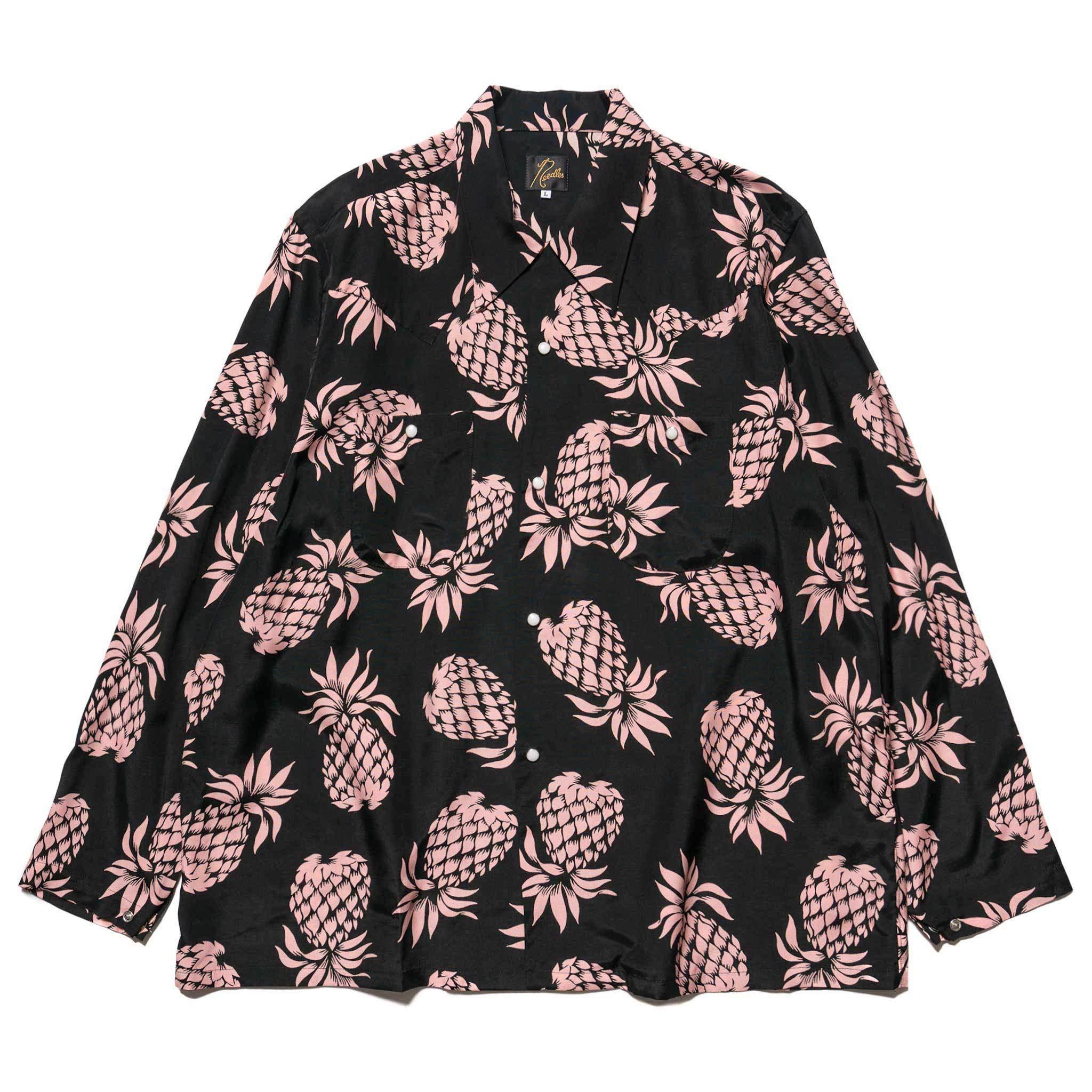 Needles-One-Up-Cowboy-Shirt-Rayon-Cloth-Sateen-Pineapple-Black.jpg