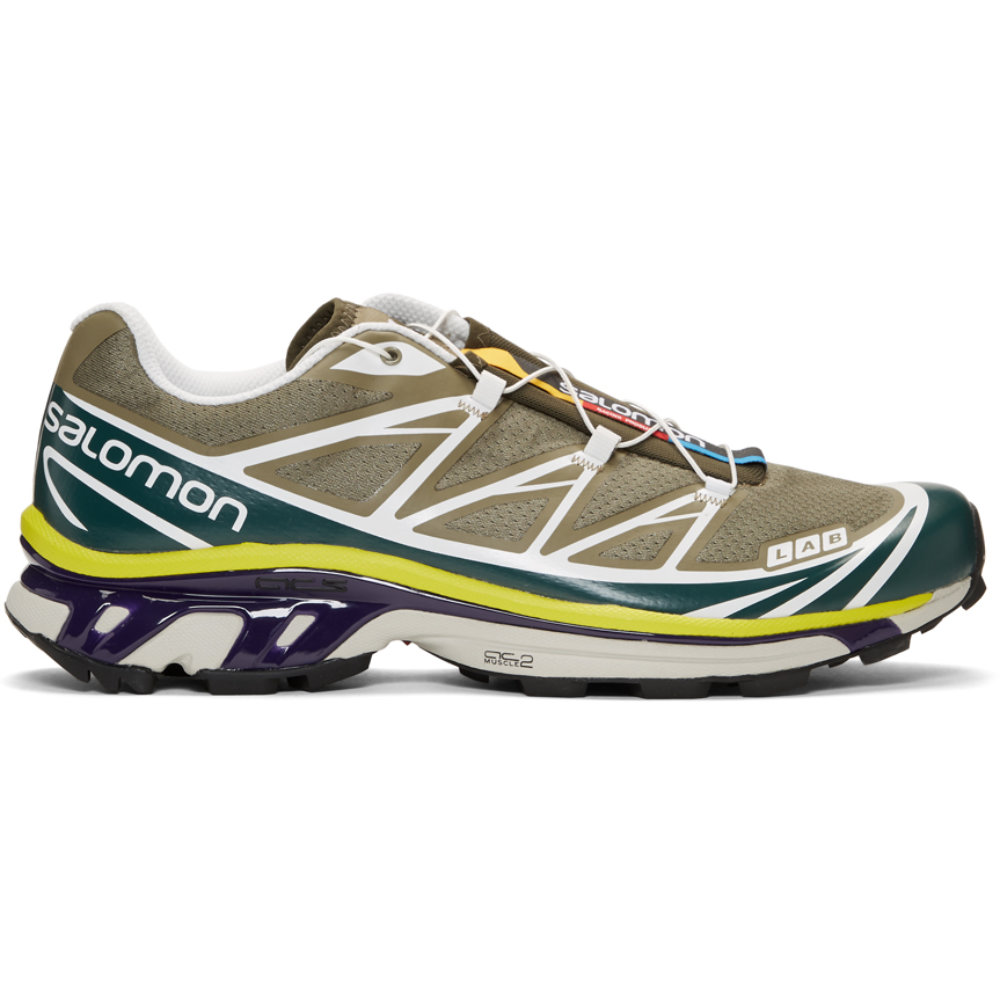 Salomon S/LAB XT-6 Green - SELLOUT RISK: LOW MED HIGHPurchase now at ssense.com for $260.00