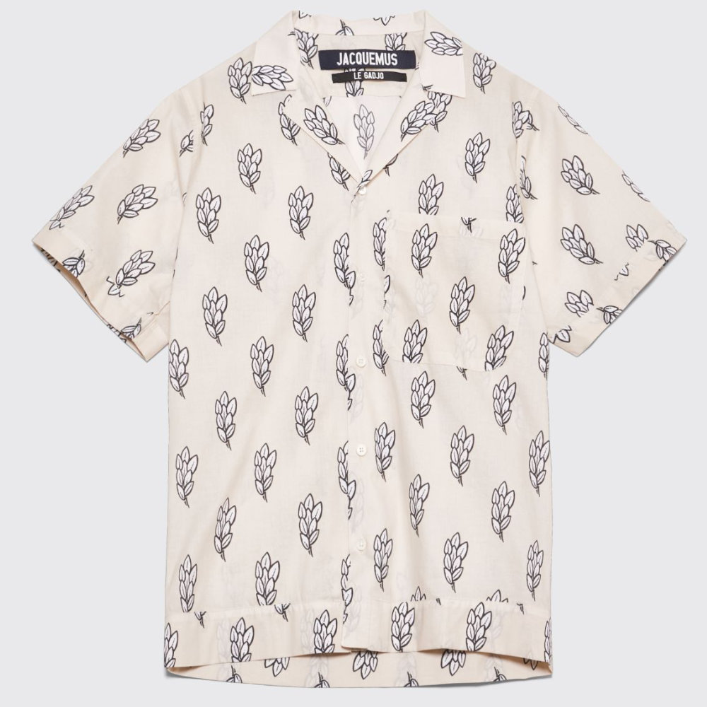 JACQUEMUS PRINTED CAMP SHIRT - Ever since Jacquemus entered the menswear scene they have been producing some amazing pieces for really reasonable prices as well.SELLOUT RISK: LOW MED HIGHPurchase now at tres-bien.com for $168.00