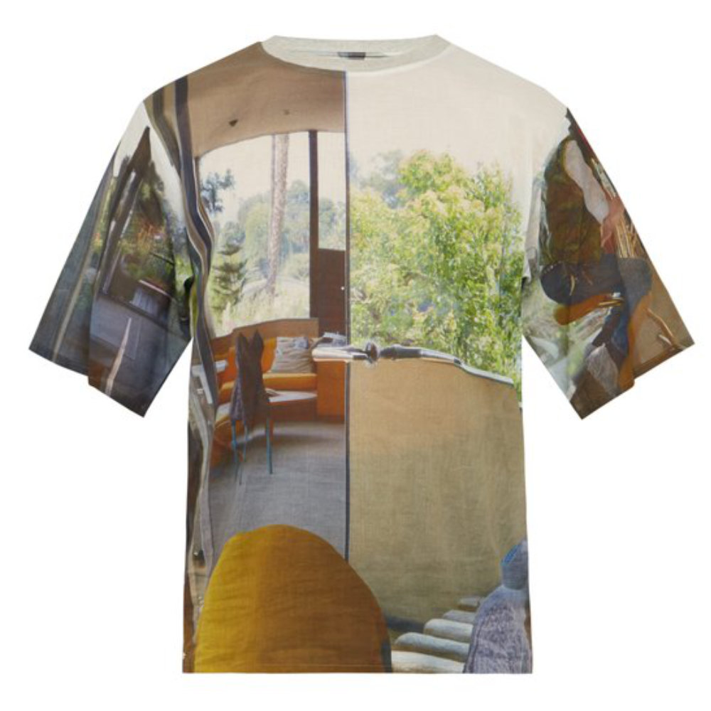 BLESS HOLIDAY PHOTOGRAPH T-SHIRT - An allover photograph print t-shirt from Bless. Wear it tucked as a layering piece, tucked in, left out. However you wear this t-shirt just know it will look great.SELLOUT RISK: LOW MED HIGHPurchase now at ssense.com for $338.00