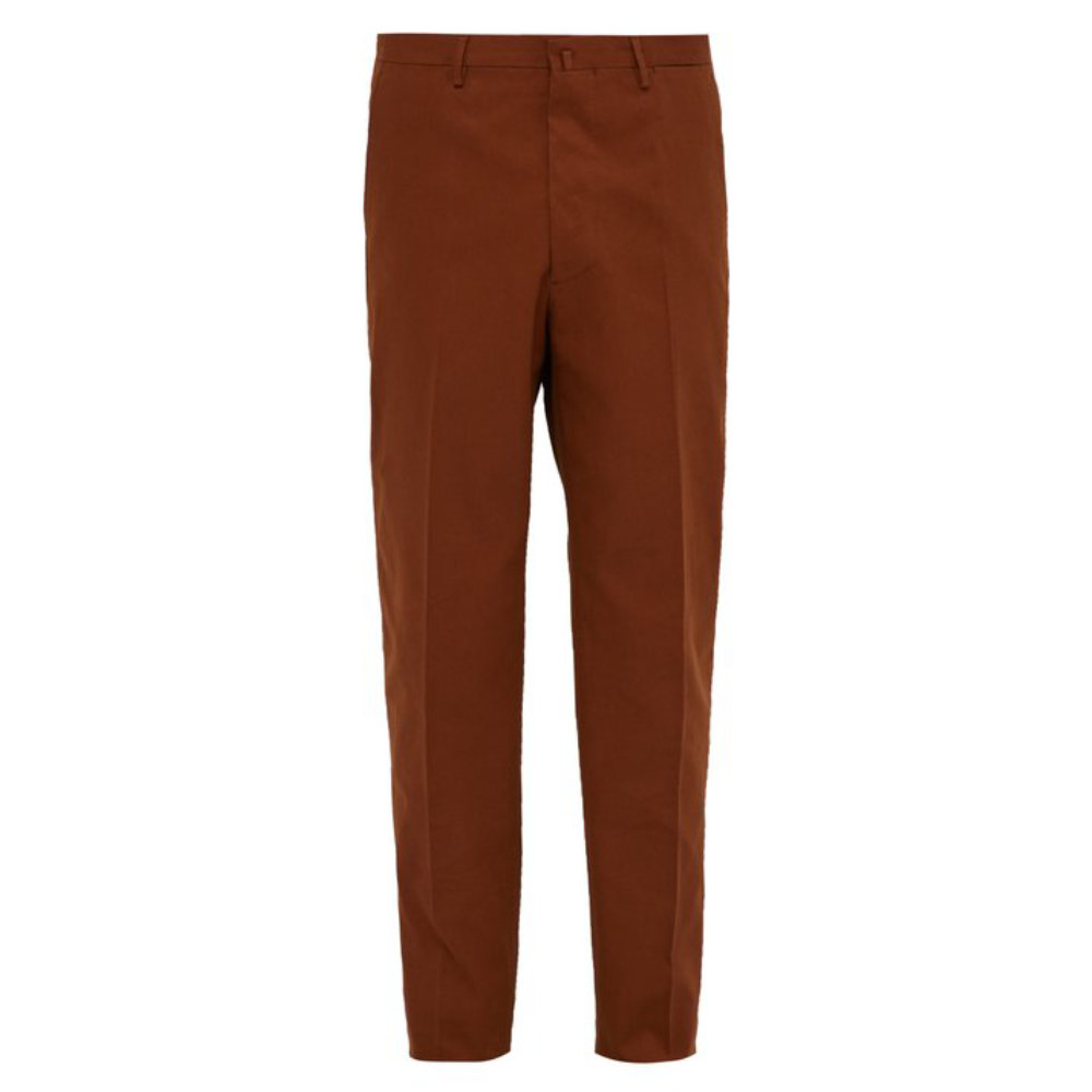 HOLIDAY BOILEaU IVY TROUSERS - A simple pair of cotton pants in one of the best colors for any garment.SELLOUT RISK: LOW MED HIGHPurchase now at ssense.com for $436.00
