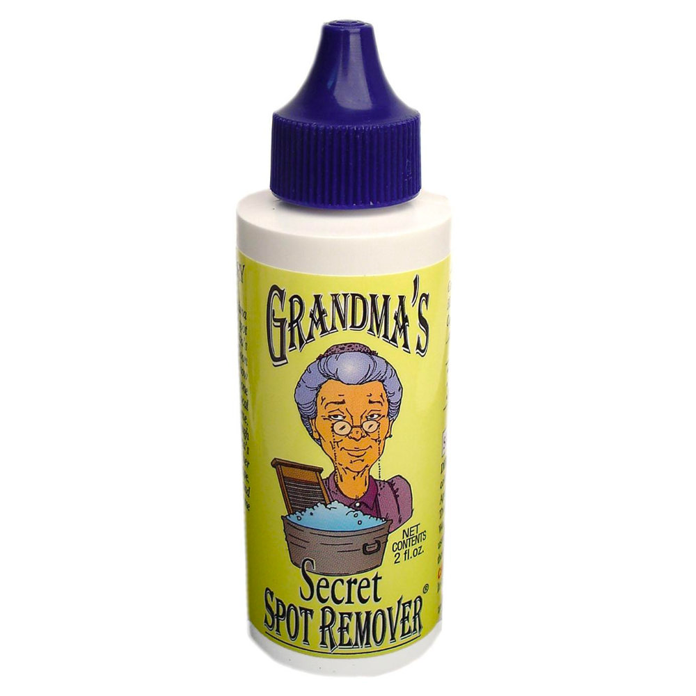 GRANDMA'S Secret Spot Remove - For that super tough stain that won't come out. A little more complex than the tide-pen above since it requires a ten-minute rest and a wash or thorough sink rinsing after. Personally tested and never got unwanted resultsPurchase now at amazon.com from $6.99