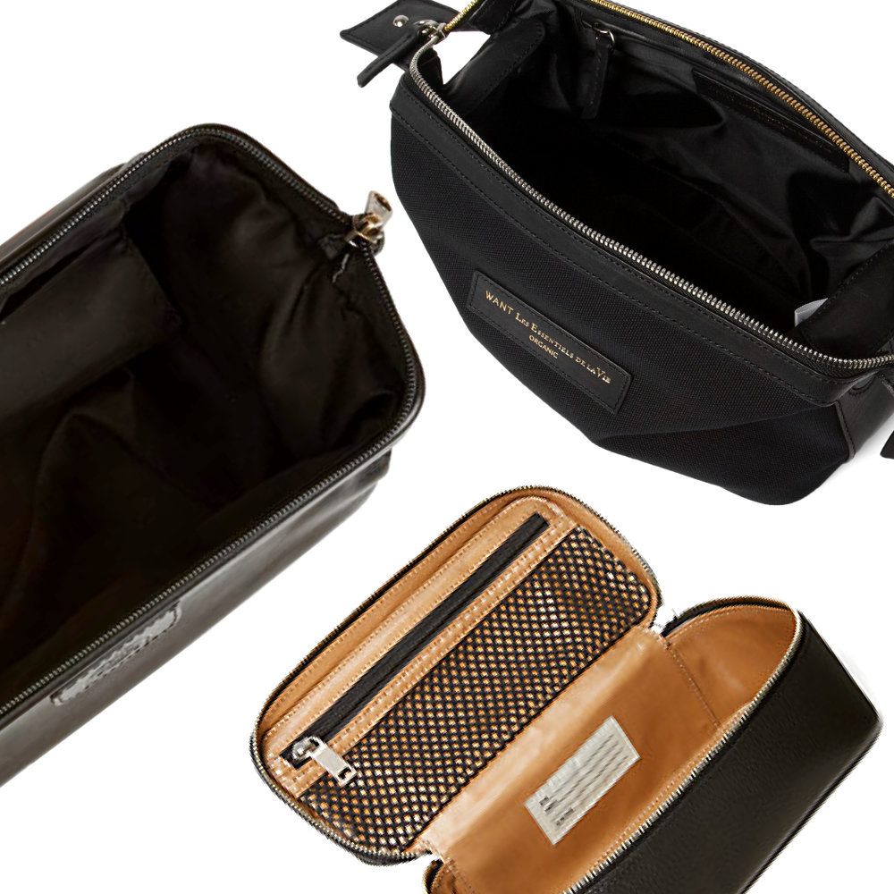 What makes a good dopp kit? - - What makes a good dopp kit is composed of four things. Storage, accessibility, cleanability, and of course - style!All three of the dopp kits check all four of the above mentioned components. You can't go wrong with any option below.