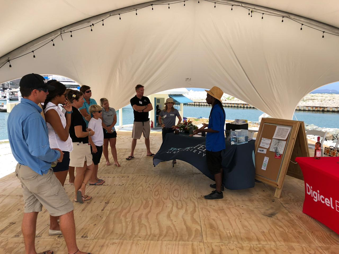 Seeds of Love presentation at the 2019 Charter Yacht Society Mid Year Charter Show