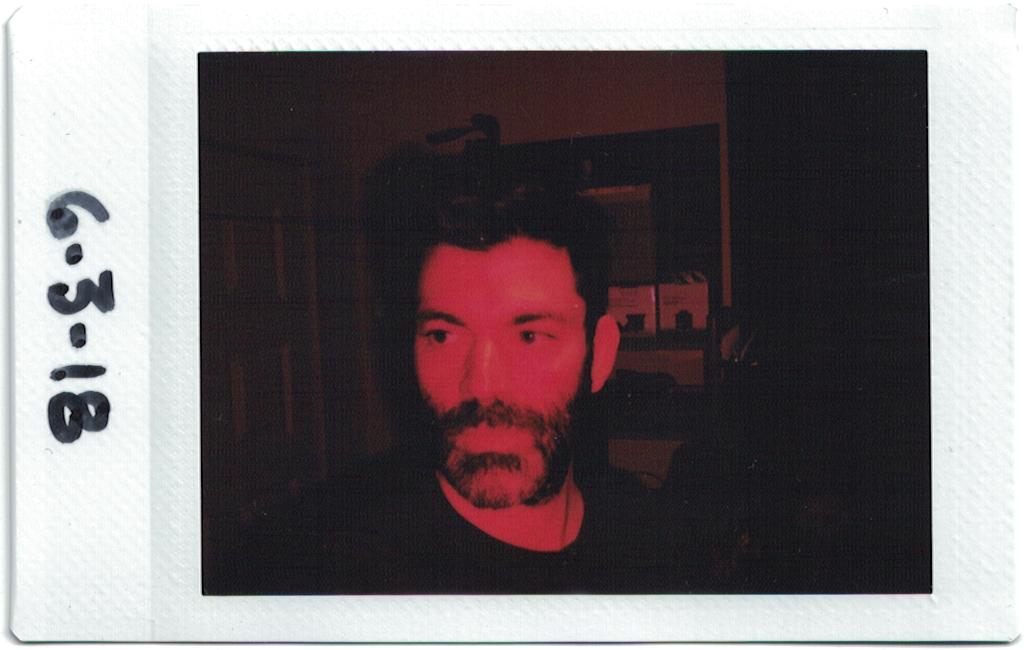 Self portrait, 6-3-2018