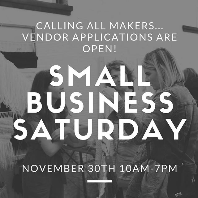 Pop-Up Shop Applications for Small Business Saturday are open! Perfect for online businesses, creatives, and makers ❤️ Wealthy Street District is a bustling shopping district and this is one of the busiest shopping days of the year! 🎉  Message us your name, email, and your business name to receive an application. Vendor Spaces are limited.