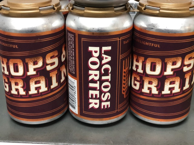 Hops and Grain (Austin, TX) - An American Porter style beer brewed by Hops and Grain is a seasonal dark ruby-brown ale.