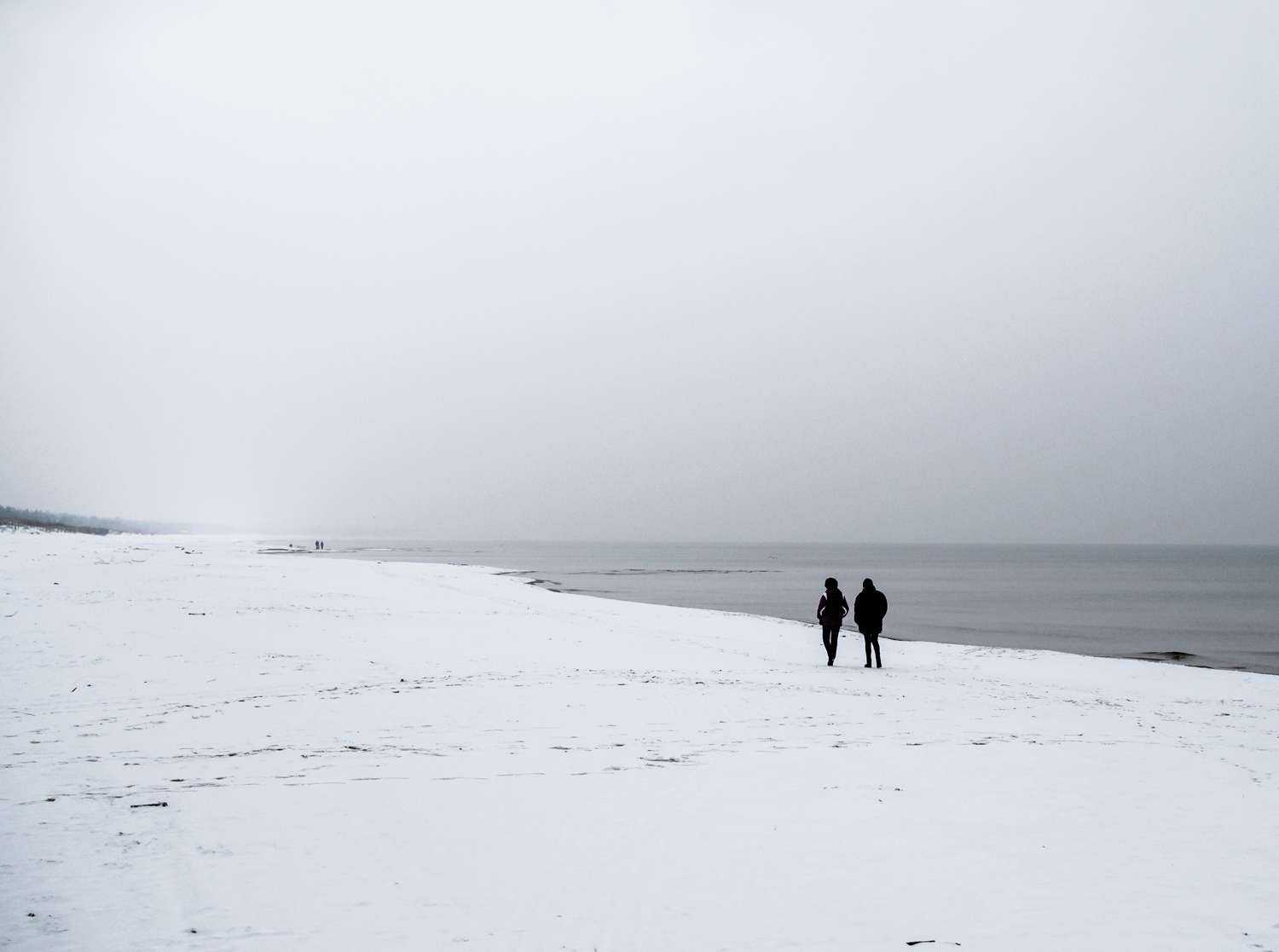 beach winter Poland north winter is coming mindfulness relax enjoy