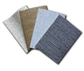 Colors & Fabrics - Our collection of smooth and textured vinyls, delicious curves and rich weaves offers something for everyone. Tone on tone textures, beautiful color combos, and simple hues make for soaring style in the home.