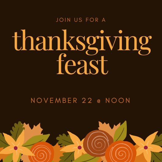 Brown Leaves Illustration Thanksgiving Invitation.jpg