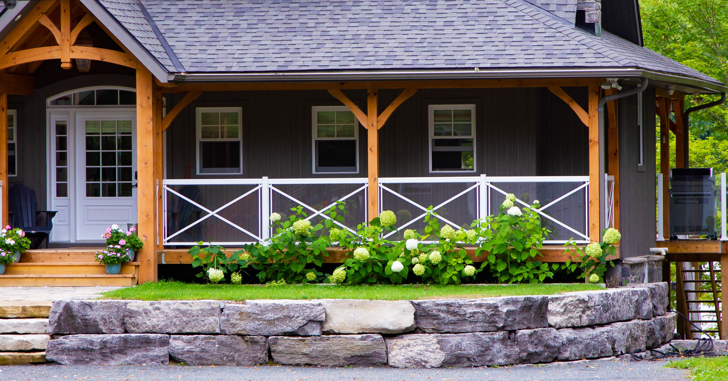 Raised Flower Garden