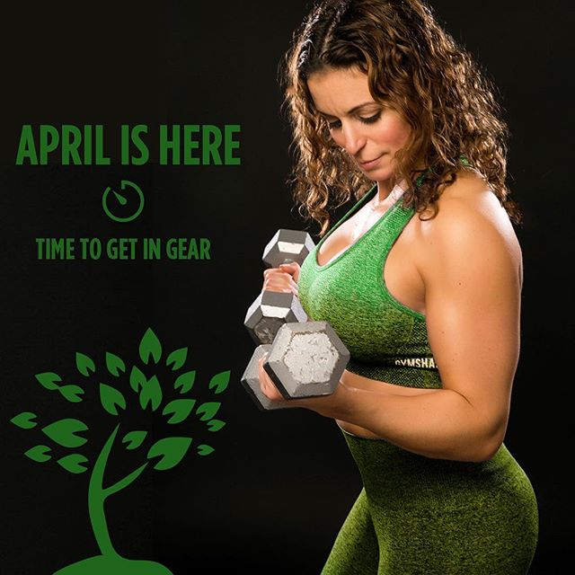 It's time for April! Time for the grass to get greener, time for the days to be longer. Most importantly, it's time to get moving if you want that great body by Summer!  #Fitness #Goals #Spring #April #Montreal #training #functionaltraining #Stregnth #Lift #MTL