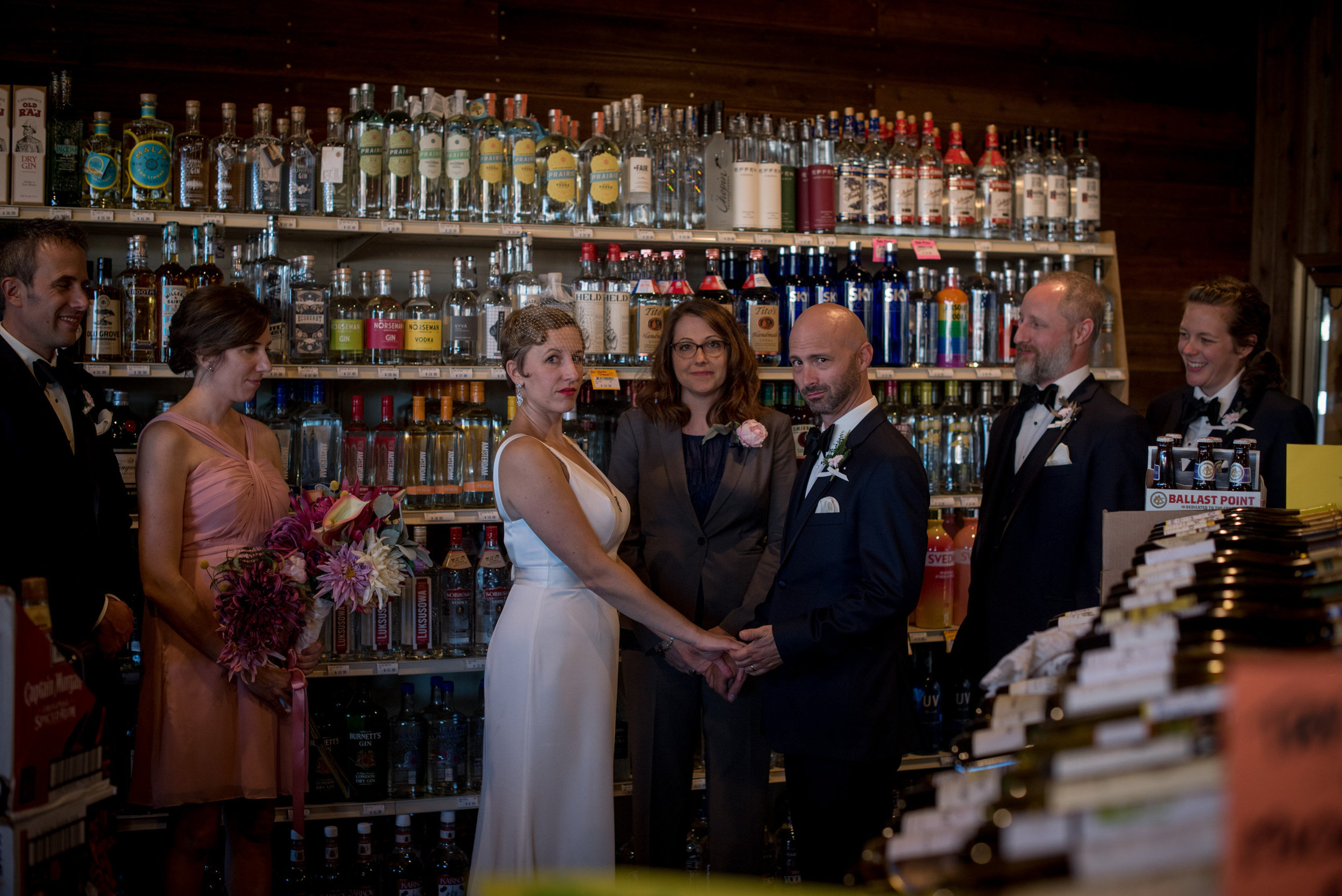 get married in a liquor store, though. it's the new craze.