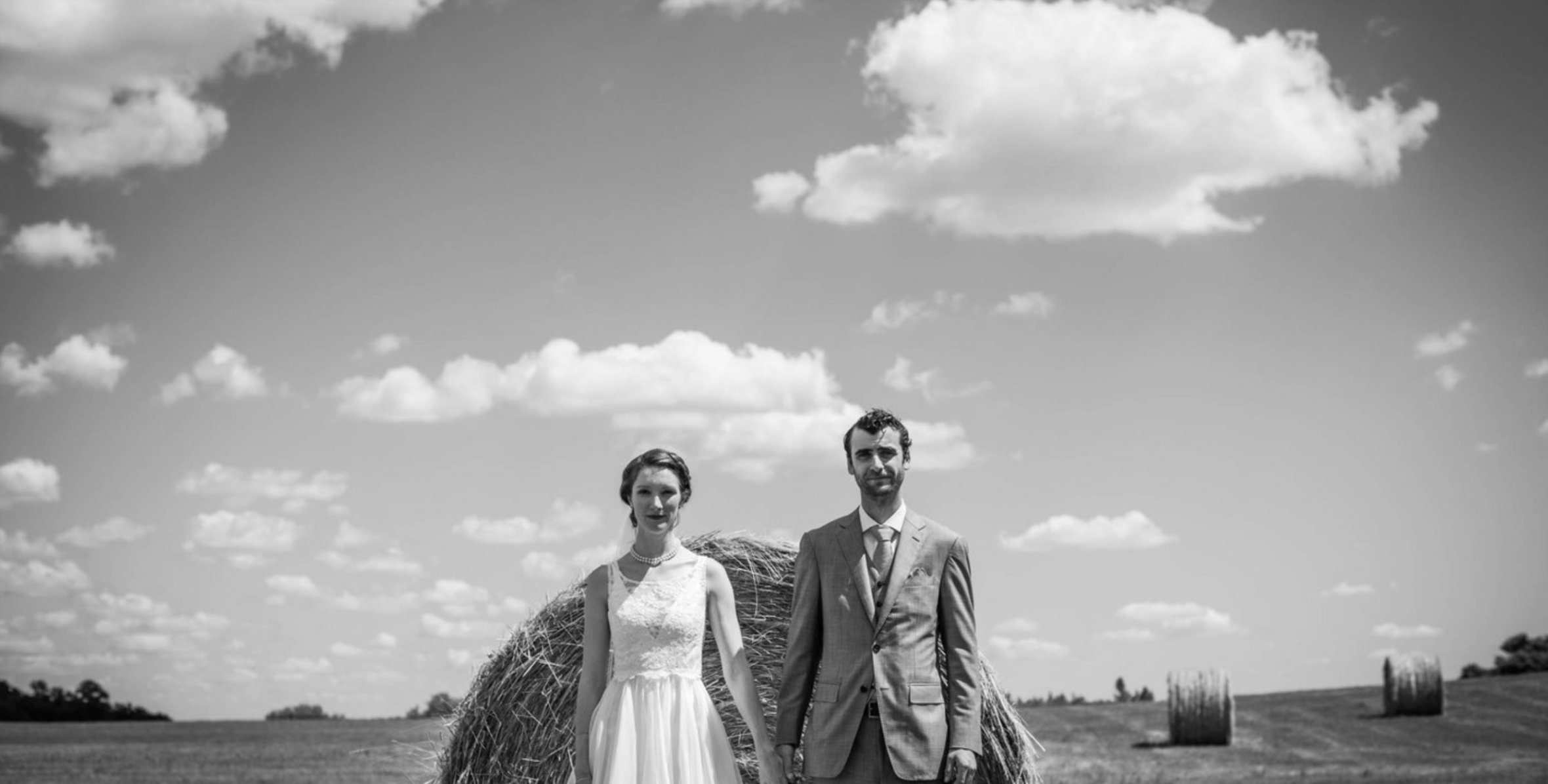 american gothic. - sometimes just a straight-forward, side-by-side stoic look makes for an iconic portrait.