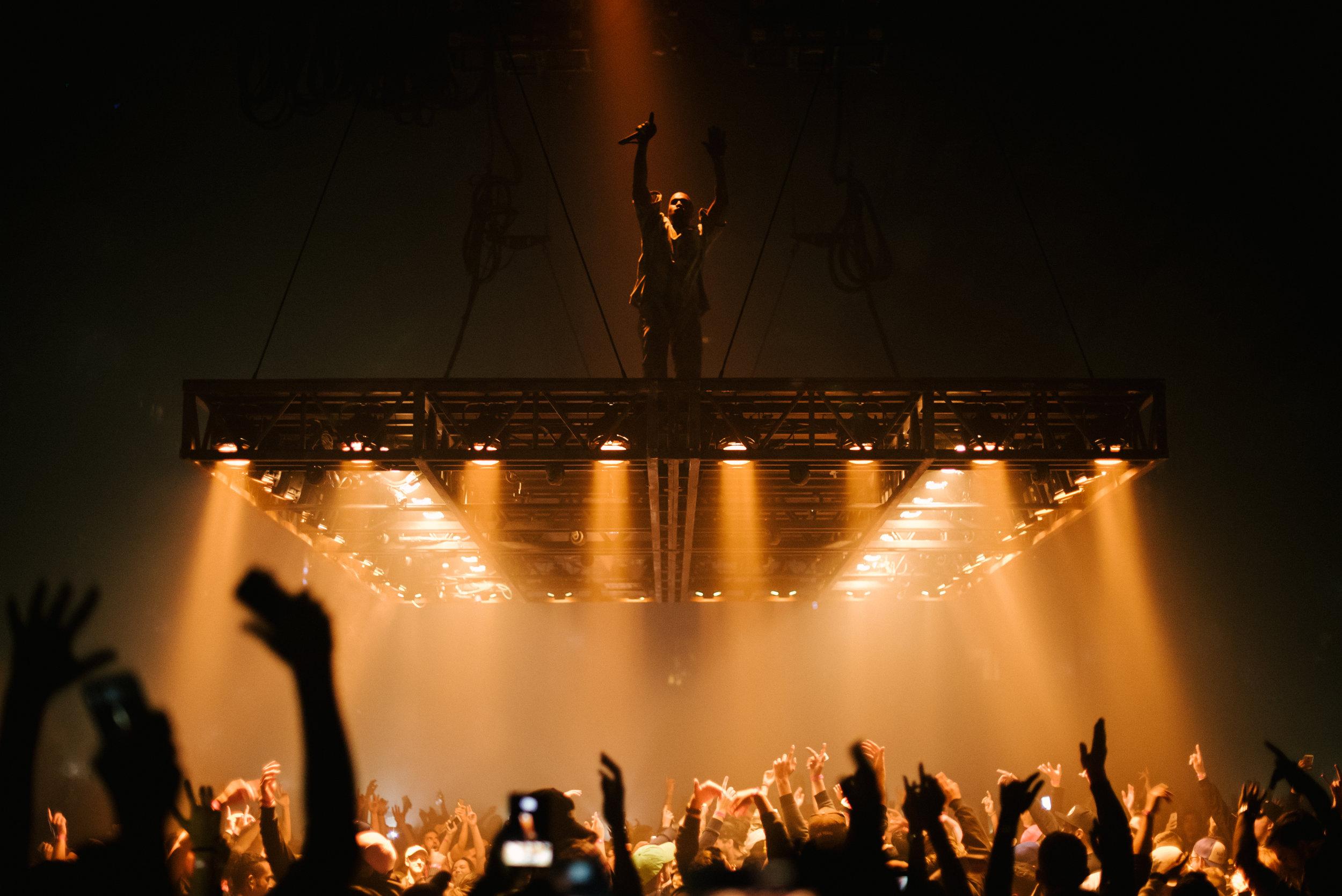 Kanye West by Brandon Artis
