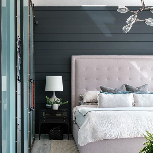 It's masculine, but still soft. It's modern, but still a bit traditional. It's a hot-damn perfect bedroom if I ever did see one. . @houseenvyinteriors and I had so much fun with this place. When we get in the zone, bouncing ideas, creating, searching, refining - magic happens. Real design magic, my friends. No rabbits or card tricks over here. . . . Photo by @nicolegerhardtphotography . . . #clearspacedesignco #houseenvyinteriors #houseandhome #Amisty #customdesigns #designobsessed #luxuryhomes #luxuryhomedesign #howihaven #howwedwell #showmeyourstyled #showmeyourhome #realinstagramhomes #loveyourhouse #lovewhereyoudwell #laughingdesigners #jokesters #lovewhatyoudo #hashtagblessed