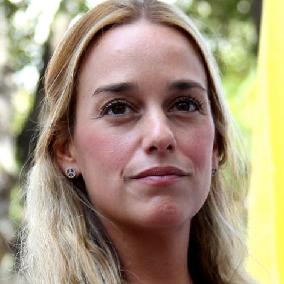 Lilian Tintori (Venezuela)  Democracy activist, wife of imprisoned Venezuelan leader Leopoldo Lopez