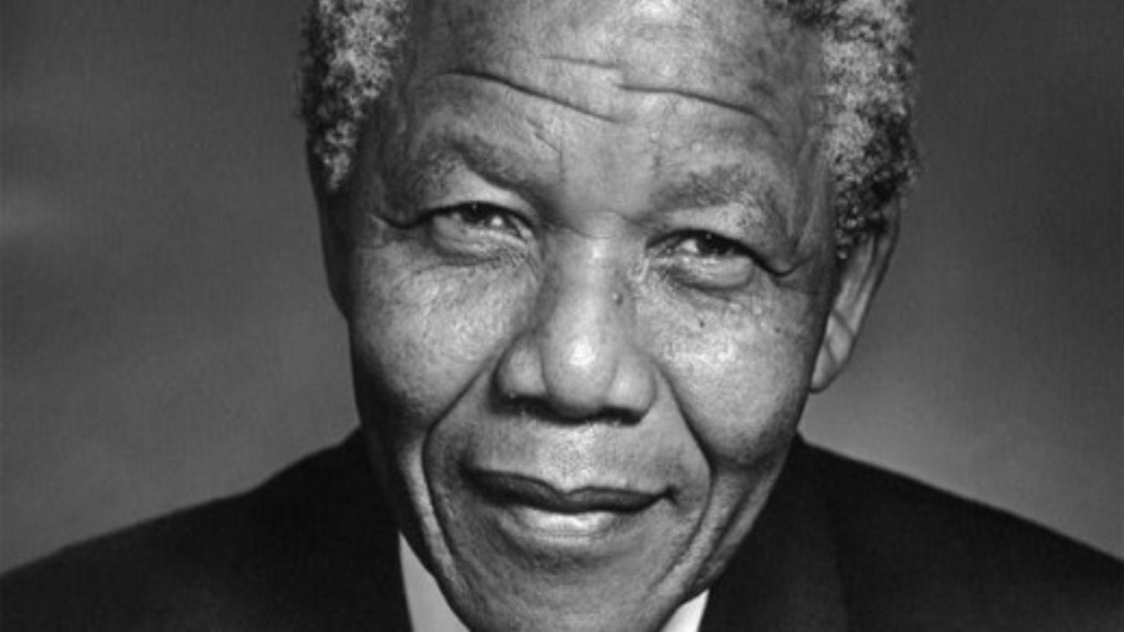 Nelson Mandela, political prisoner and hero of humanity