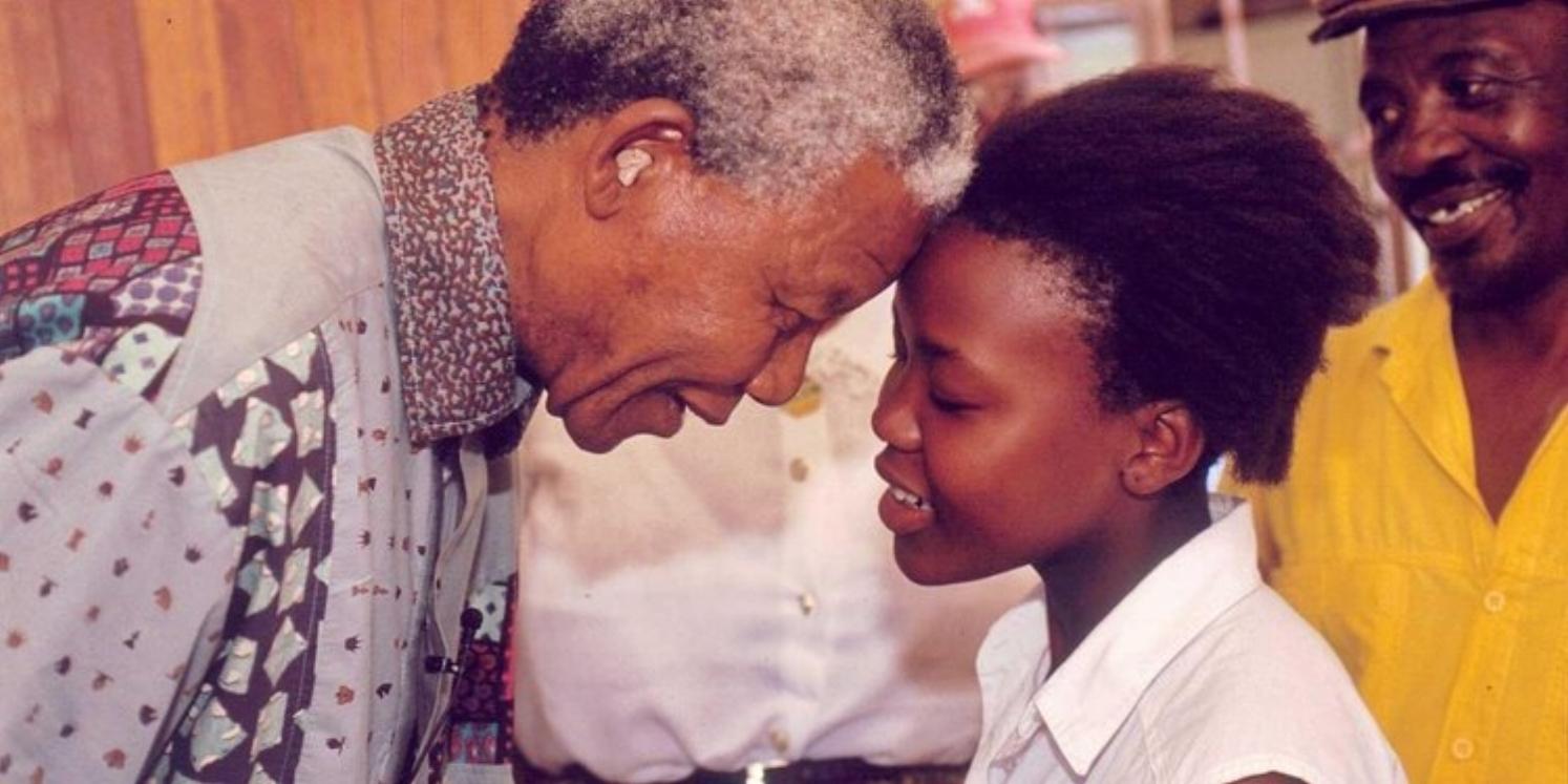 Mandela, love, empathy, hero humanity.