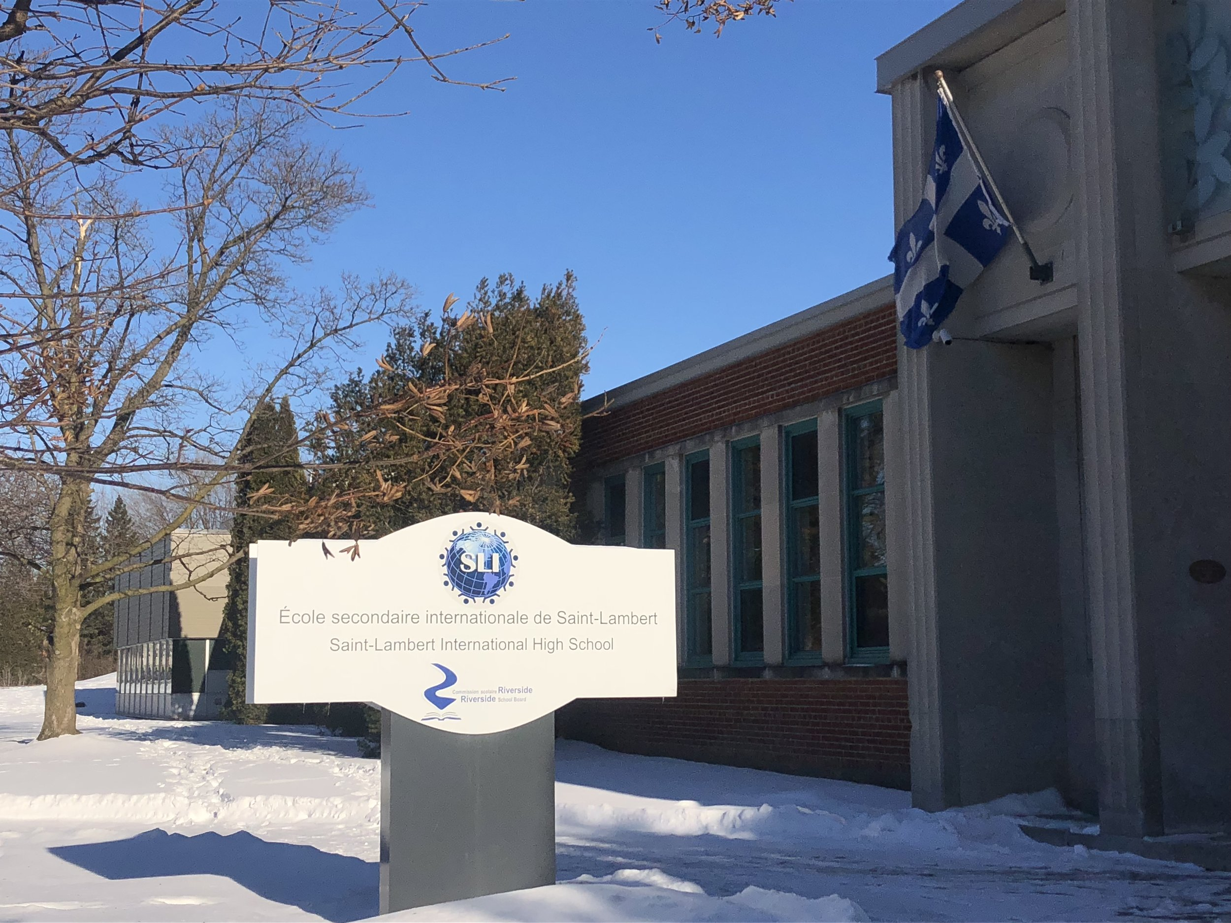 The first to partner with the RWCHR was Saint-Lambert International High School « École secondaire internationale de Saint-Lambert » (SLI) in Québec, Canada.
