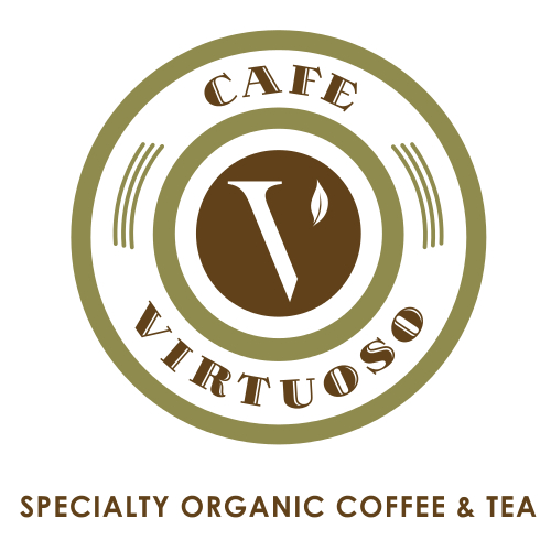 Cafe Virtuoso - San DiegoDedicated to producing superior products and methods to ensure sustainability, Café Virtuoso is the only coffee roaster in San Diego to offer 100% certified organic coffee and teas. They support fair trade in order to protect farmers' abilities to grow the highest-quality coffee possible, supporting social programs, continuing education and steadfast crop improvement. Café Virtuoso' award winning coffee supports the economic sustainability that enables farming communities to flourish, providing us with our lifeblood; the world's finest coffee!