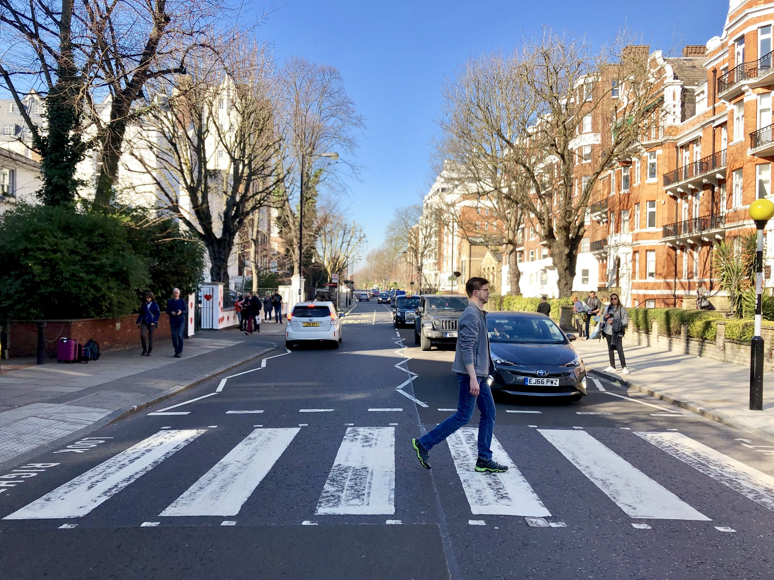 The Beatles Abbey Road Crossing (London)