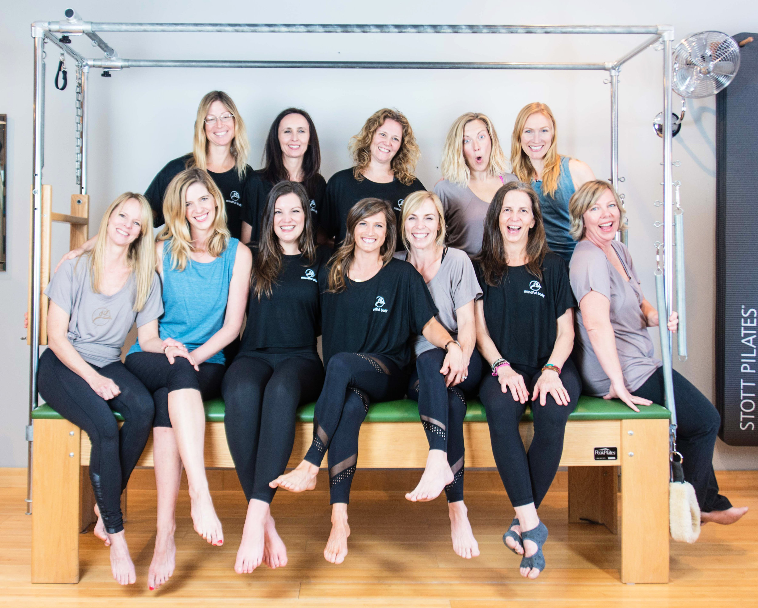 The Mindful Body Pilates Studio Family