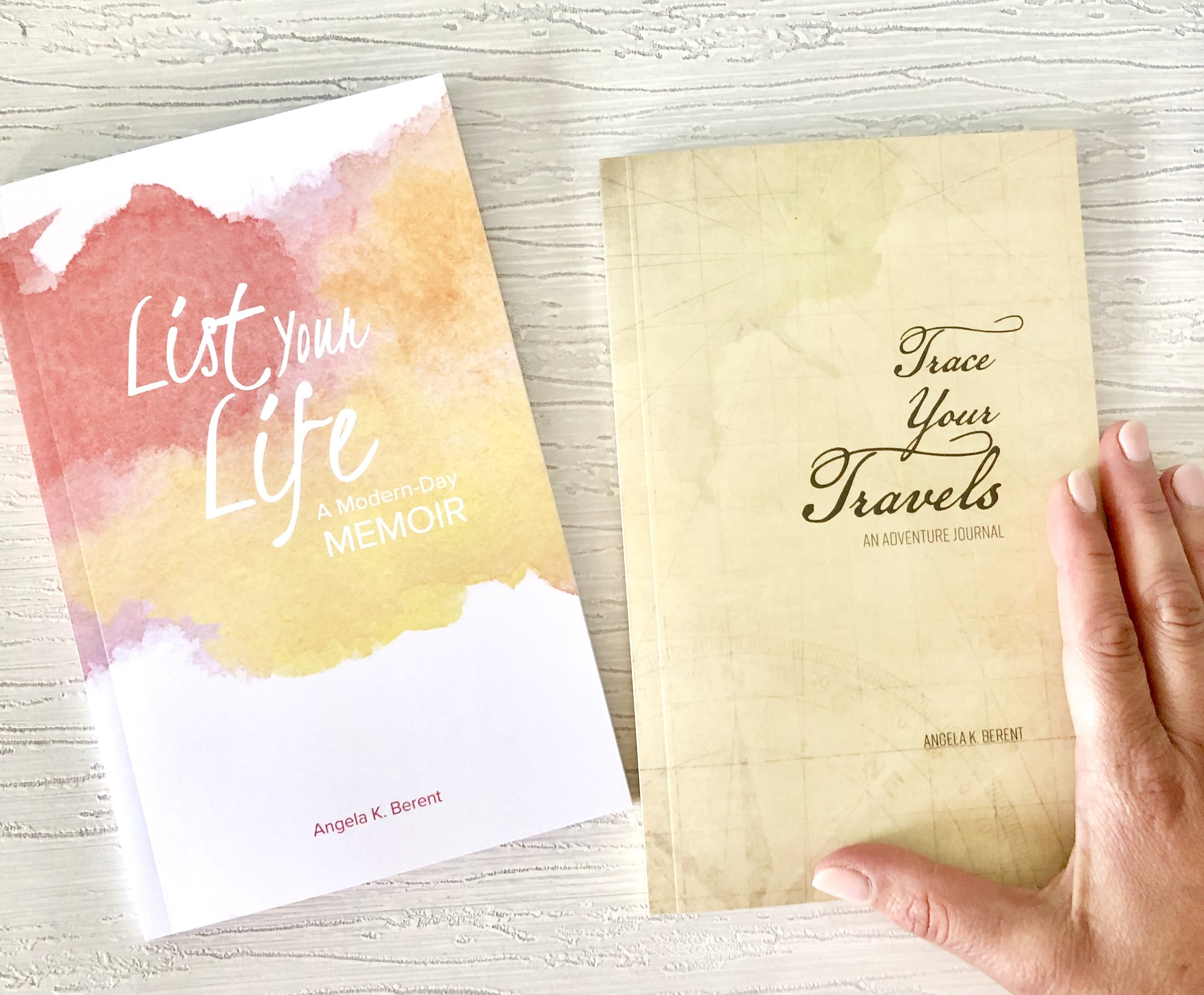 a personal journal makes a fabulous gift and these ones are perfect for upcoming summer travel or to record those special moments in a unique list format. head    here    to order and shipping is free if you order by may 7!