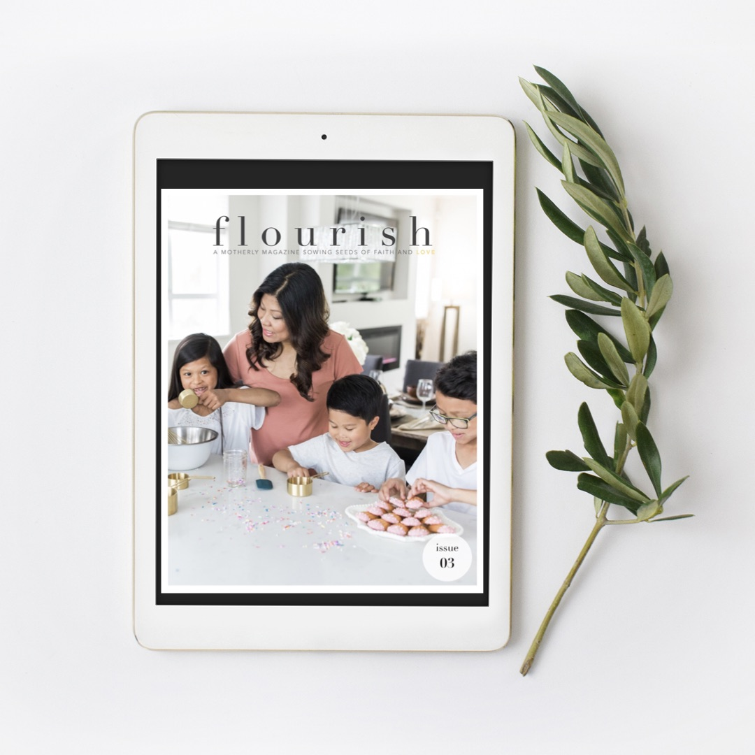 Flourish Motherhood Magazine     is graciously offering a FREE digital download for either Issue 01—4. I've written several times for Flourish and I'm always encouraged, challenging and uplifted by this magazine as well! Use code MOTHERSDAY19 now through June 1!!