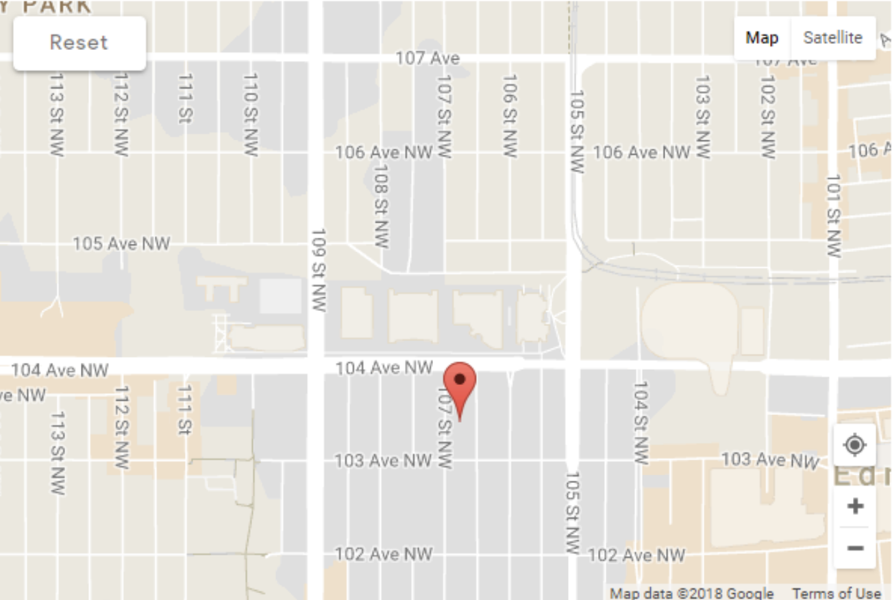 another google map screenshot with the pin in the right location