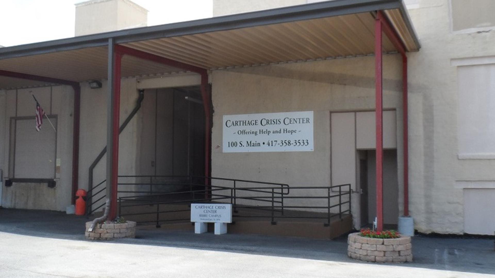 Carthage Crisis Center - Faith-based homeless center, recycling center, food distribution center.
