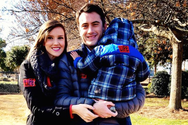 Natalie and Matthew Brumfield of Birmingham adopted their foster child Braxton (Photo Courtesy Bound4LIFE Birmingham)