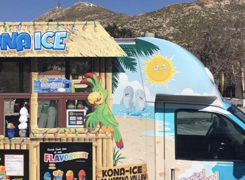 Kona Ice, Shaved Ice/Fundraising
