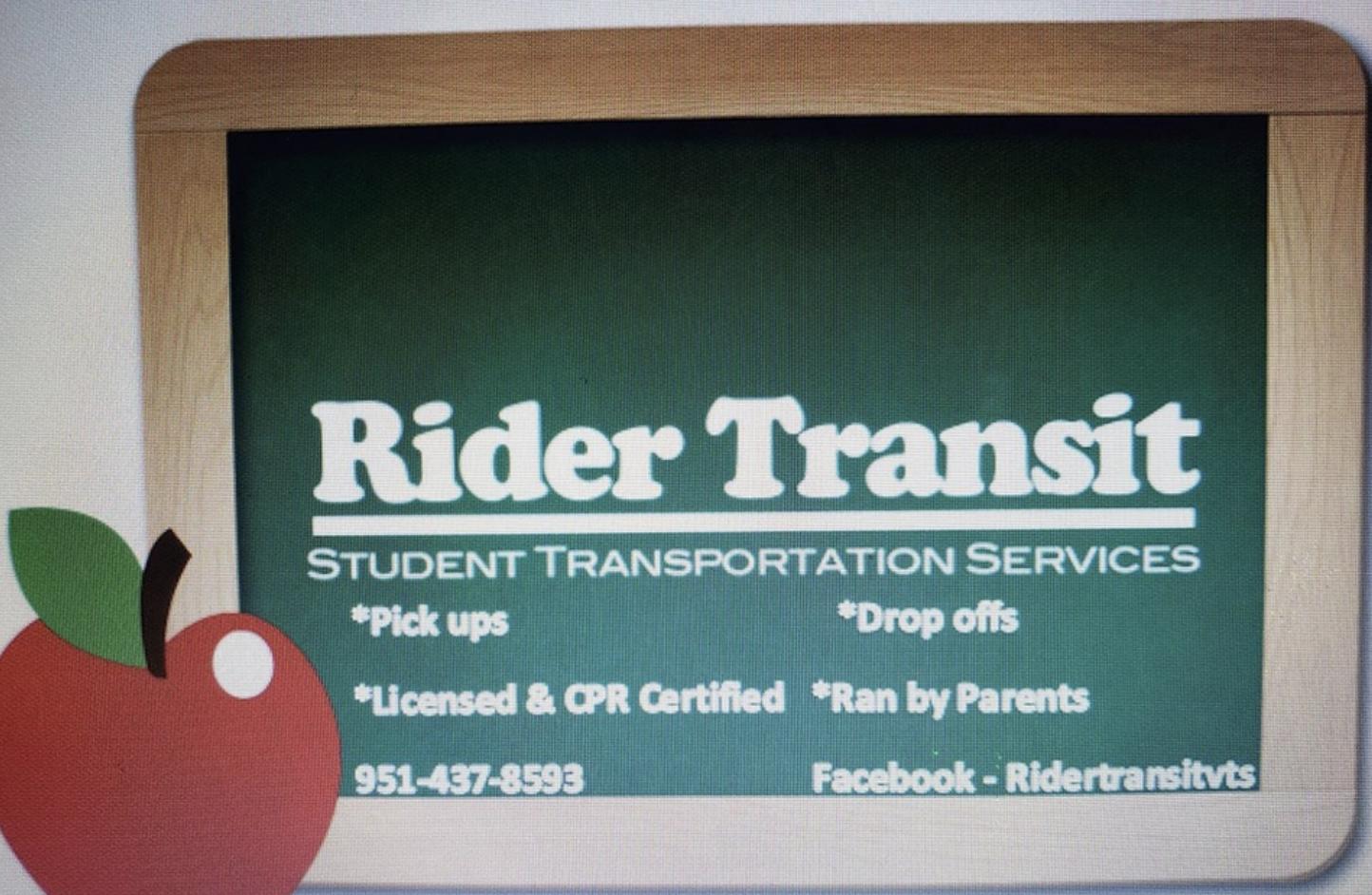 Rider Transit, transportation for children